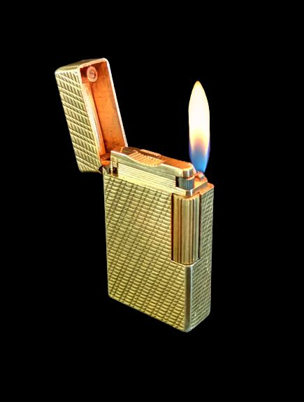 S.T. Dupont - Gold-plated Dupont Lighter - 1