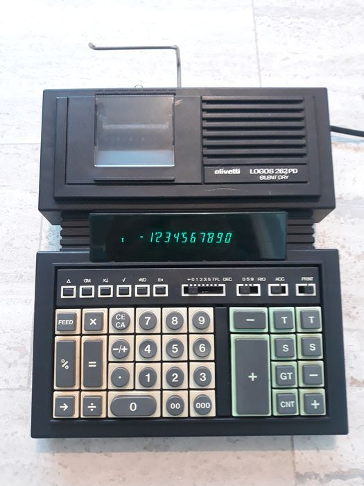 Olivetti LOGOS 262 PD - calculator with printer