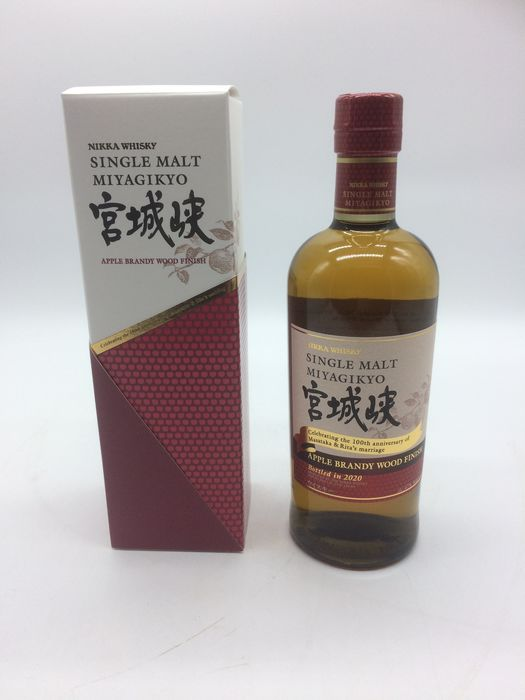 Miyagikyo Apple brandy Wood Finish - Original bottling - 70cl