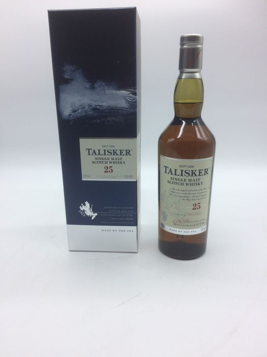Talisker 25 years old - Original bottling - 70cl