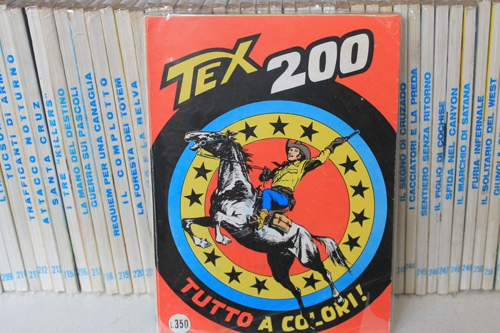 Tex I s. nn. 200/299 - sequenza completa - Softcover - First edition