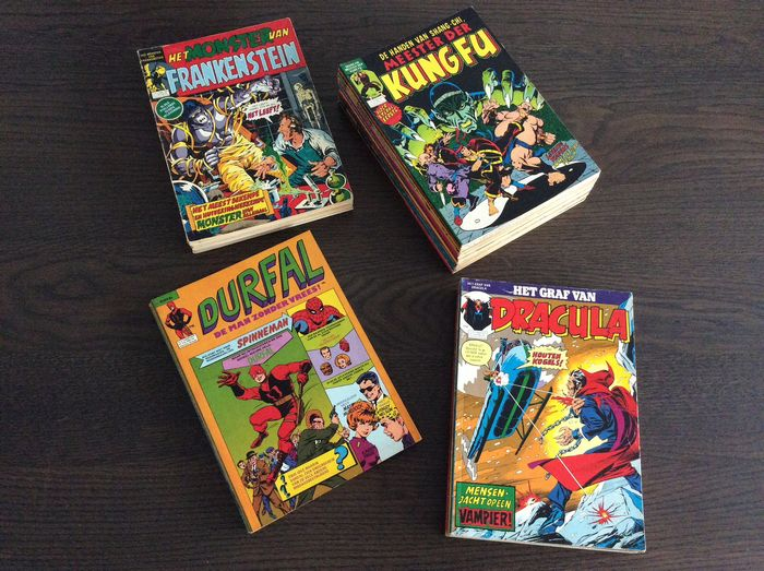 Classics - Shang-Chi - Frankenstein - Dracula - Durfal - Softcover - First edition - (1975/1977)