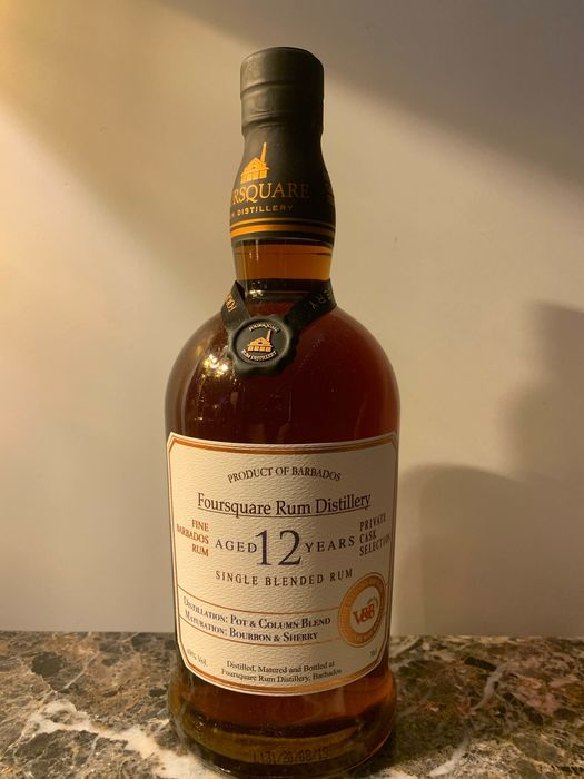 Foursquare 12 years old - Private Cask Selection / V&B - 70cl
