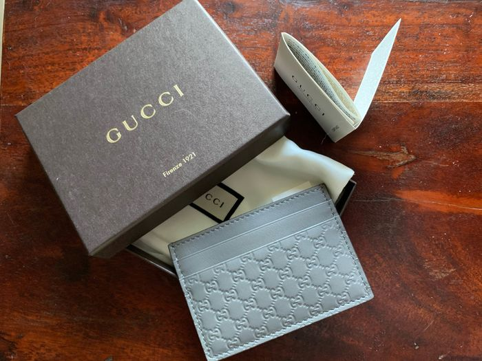 Gucci - C.Case microguccissima soft/margaux  Wallet