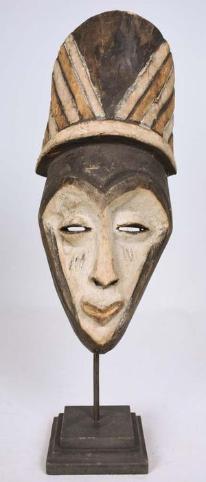 Mask - Wood - Pende - DR Congo