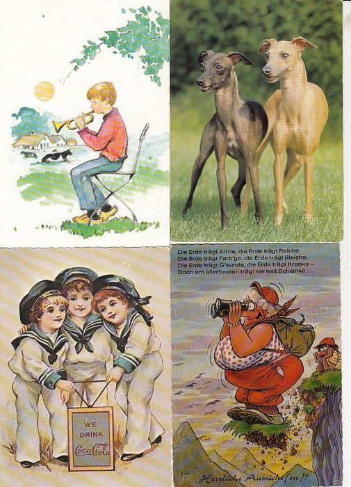 Miscellaneous - Theme - Postcards (Collection of 970) - 1962-2001