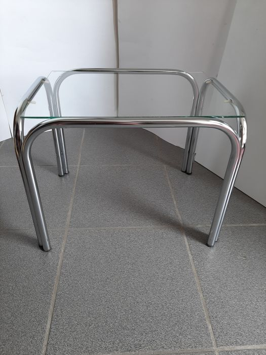 Beautiful glass side table