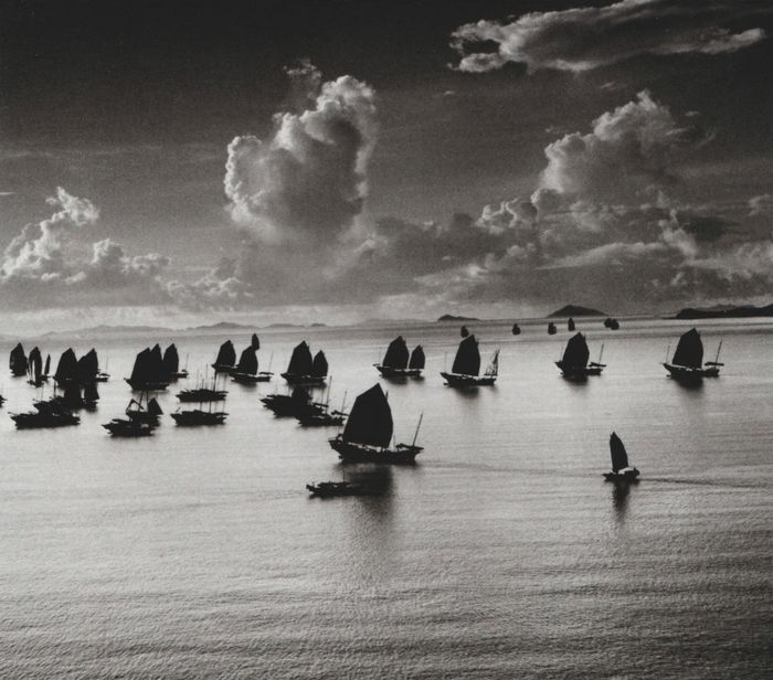 Werner Bischof (1916-1954) - Harbour Grand Kowloon, Hong Kong, 1952