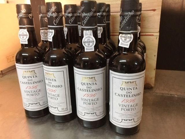 1996 Quinta do Castelinho Vintage Port - 12 Half Bottles (0.375L)