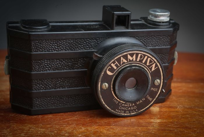 The Camera Man  Champion  Chicago Made in U.S.A  1945   Rare