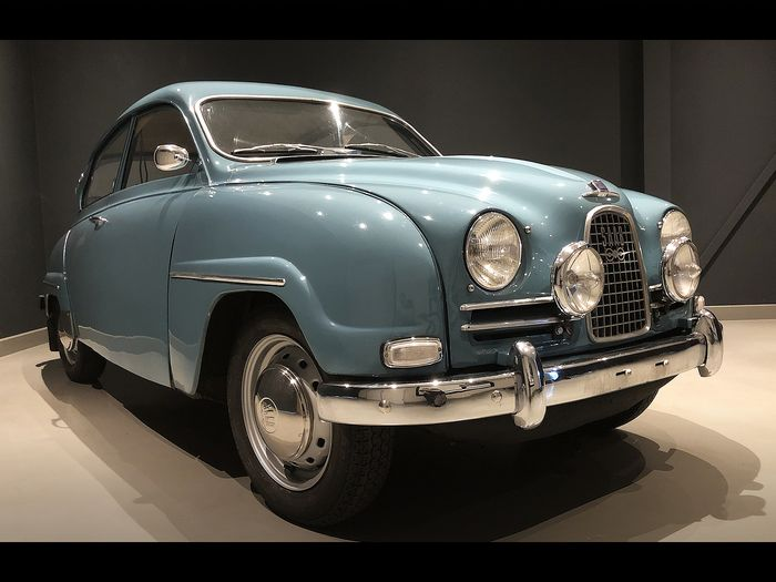 Saab - 96 Deluxe - 1962