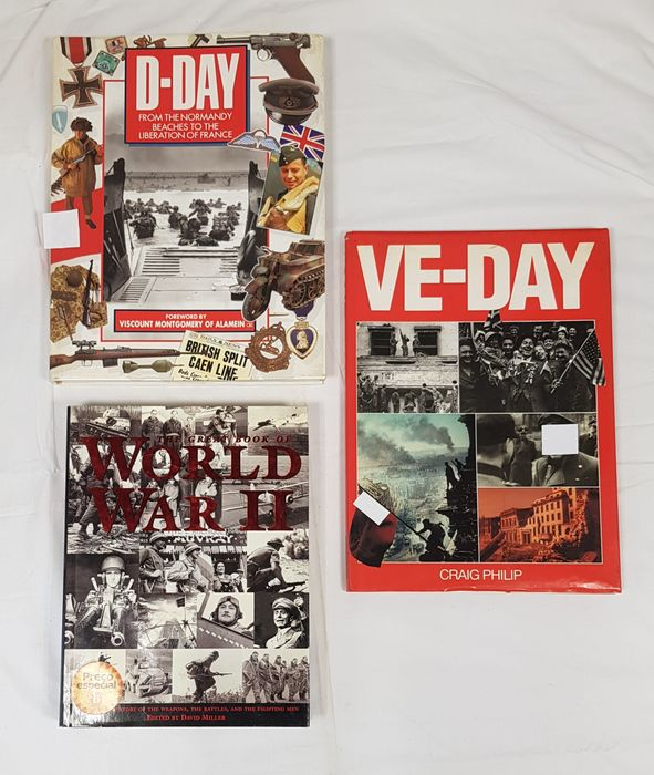 France - Three Books - D-Day: From the Normandy Beaches to the Liberation of France + The Great Book of World