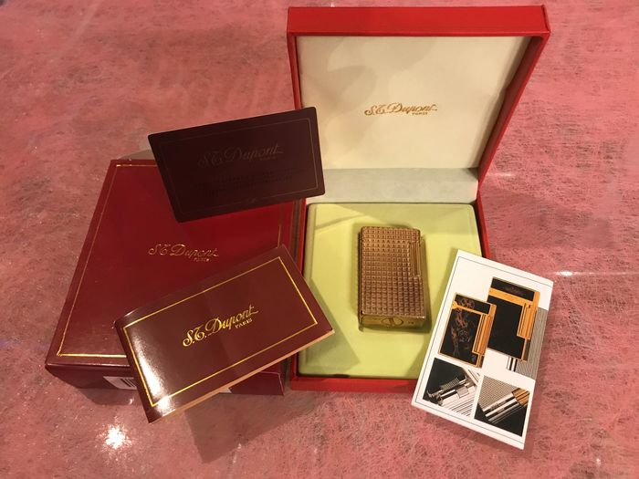 S.T. Dupont - Lighter - Complete collection of 1