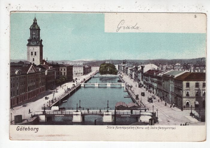 Danemark, Norvège, Suède - Cartes postales (Collection de 60) - 1900