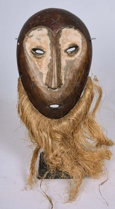 Mask - Wood - LEGA - DR Congo