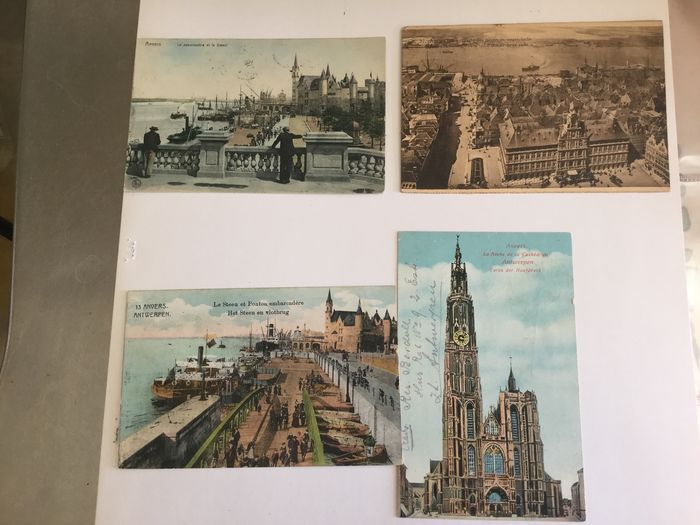Belgium - Antwerp beautifully varied fate - Postcards (Collection of 100) - 1899