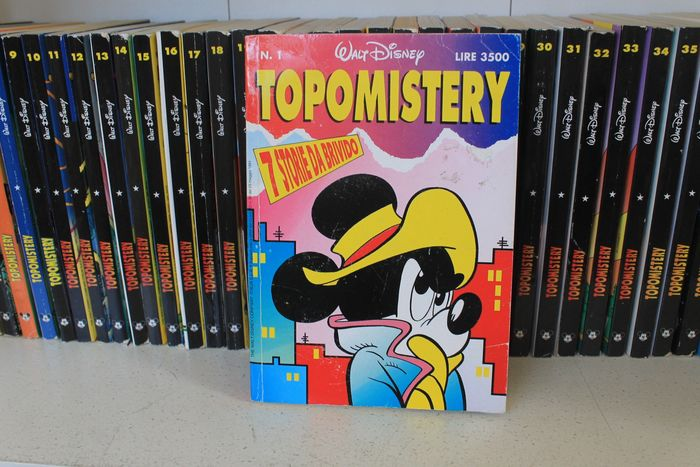 Topomistery I s. nn. 1/72 - serie completa - Softcover - First edition