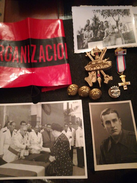 Spain - Light aviation - Badge, Medal, Personal attributes, Photo - 1939