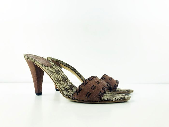 Gucci Open heeled sandal - Size: IT 38.5