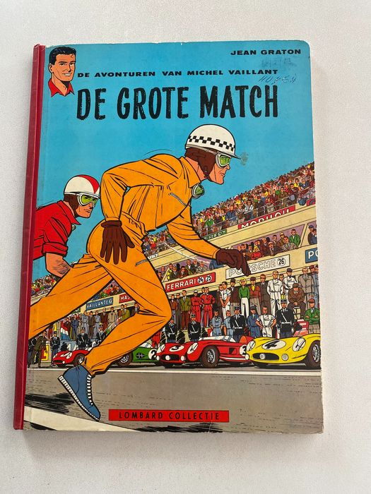 Michel Vaillant - De Grote Match - Hardcover - First edition - (1959)