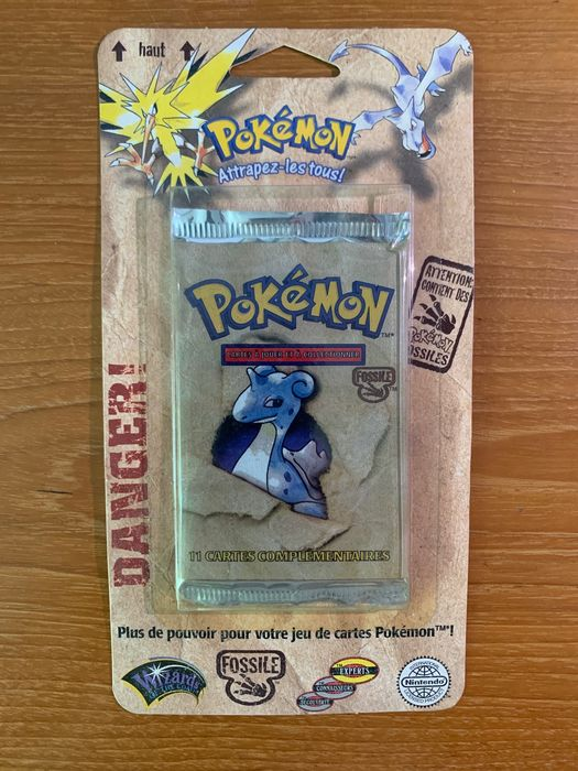 Wizards of the Coast - Pokémon Fossile - Trading cards booster in blister Fossile