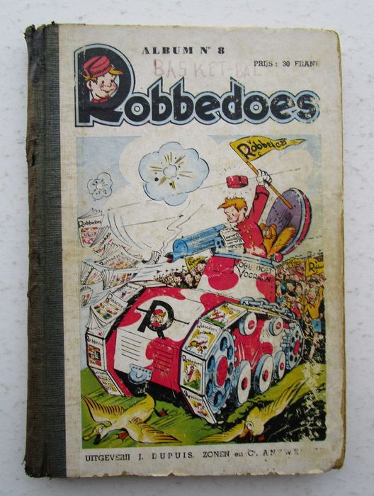 Robbedoes (magazine) - Robbedoes album 8 - Hardcover - First edition - (1941)
