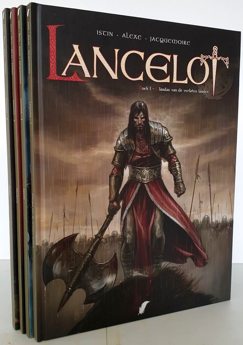 Lancelot - 1 t/m 4 - Hardcover - First edition - (2012/2015)