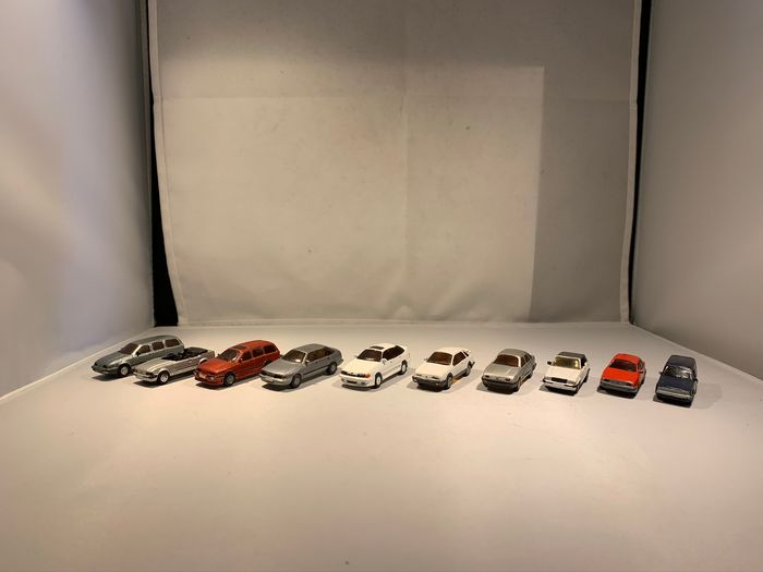 Lot of 10 cars of Different Brands - 1:43