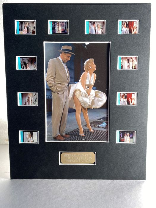 The Seven Year Itch - Marilyn Monroe - Original Film Cell Display