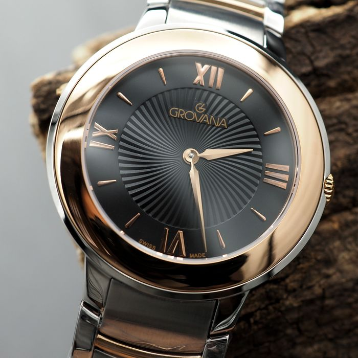 Swiss Grovana - Classic Collection - Two Tone - Swiss Made - 2099.1157 - Unisex - 2011-presente