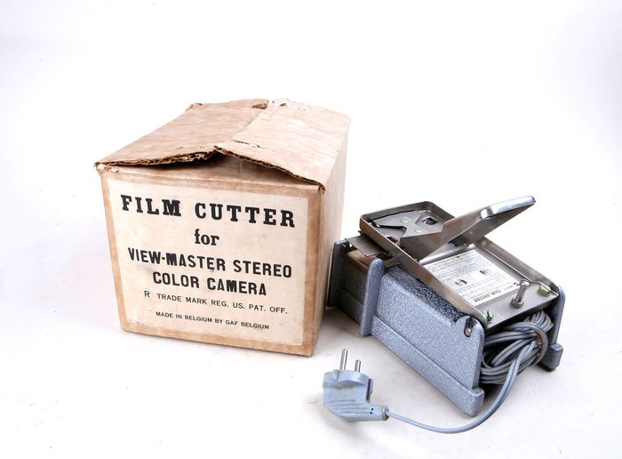 GAF Viewmaster Film cutter