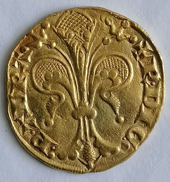 Principality of Orange - Raymond IV (1340-1393) - Florin d'or - Gold