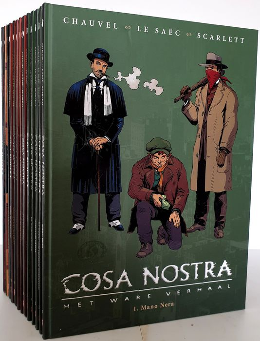 Cosa Nostra 1 t/m 13 - Diverse titels - Hardcover - First edition - (2007/2011)