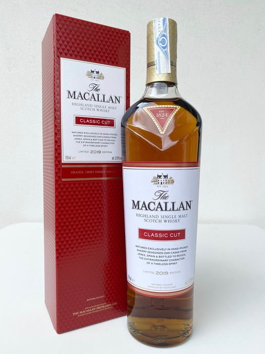 Macallan Classic Cut Limited 2019 Edition - Original bottling - 700ml