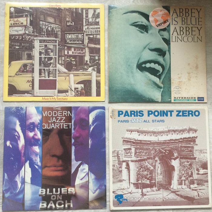 Various Artists/Bands in Jazz - Multiple artists - Multiple titles - LP's - 1968/1977