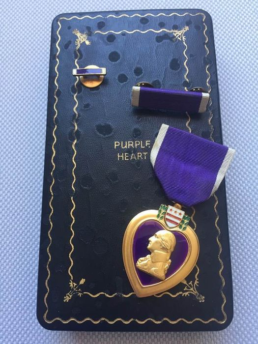 USA - American Wounded Medal (Purple Heart)