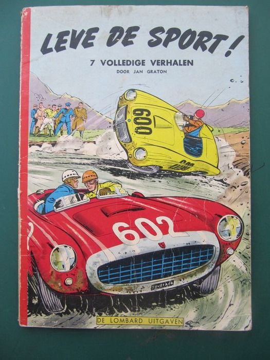 Lombard Collectie 39 - Leve de sport! - Softcover - First edition - (1957)