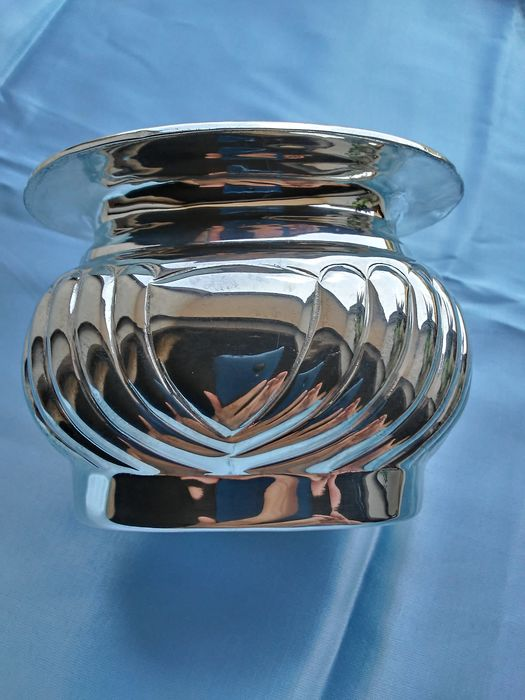 Bowl, candy candy jar (1) - Silver - Edward collection - U.K. - Late 20th century