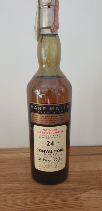 Convalmore 1978 24 years old Rare Malts Selection - Original bottling - 70cl