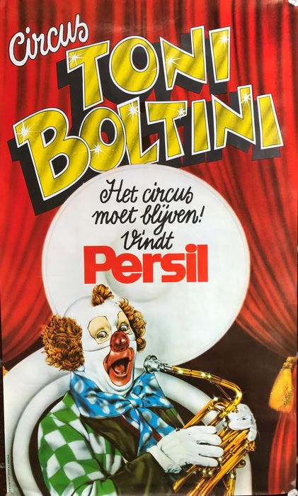 Anonymous - Circus Toni Boltini - 2 posters - 1960-tallet