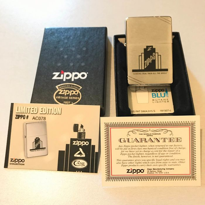 Zippo Limited Edition A Weeks Trial Vintage Series NO RESERVE PRICE - Lighter