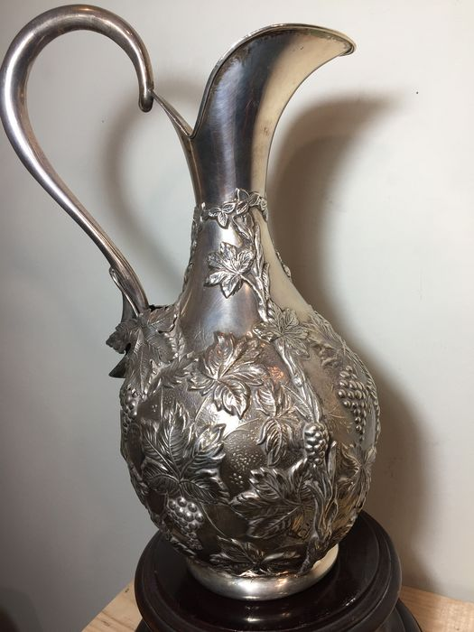 Pitcher (1) - .925 silver - orfebre - Spain - Second half 20th century