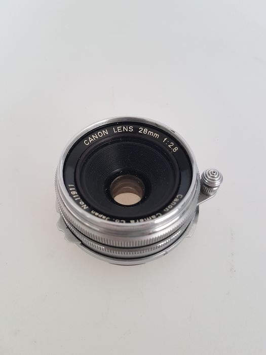 Canon 28mm F2.8  (M39 + Leica M adapter)