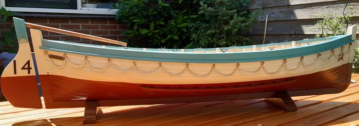 Model of Titanic Lifeboat 14 - Wood - Second half 20th century
