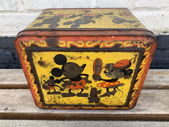 Disney/Hoffman - Tin Box - Mickey Mouse (1930)