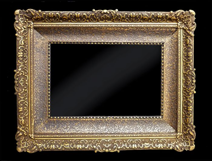 Painting, Frame - Louis XV Style