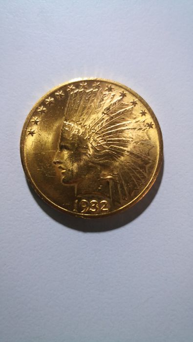 United States - 10 Dollar 1932 Indian Head - Gold