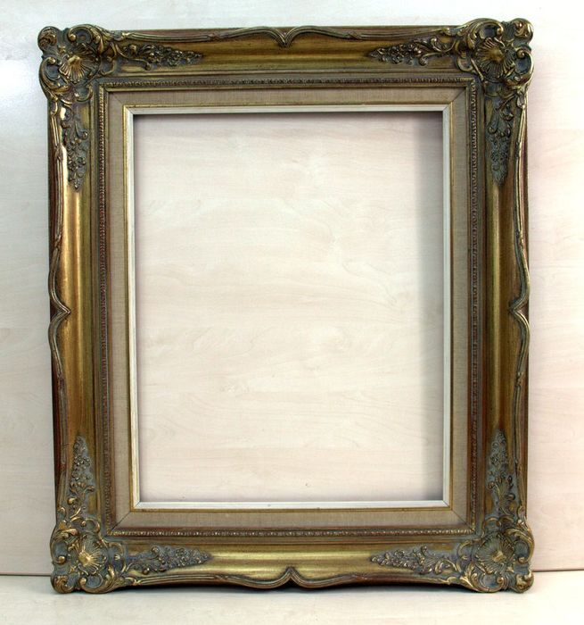 A gilded picture frame - Oak - Early 20th century