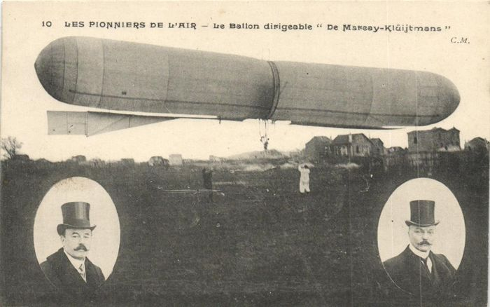 Frankrijk - Airships France - Including Zeppelins and Balloons from the early period cards - Ansichtkaarten (Collectie van 18) - 1900-1930