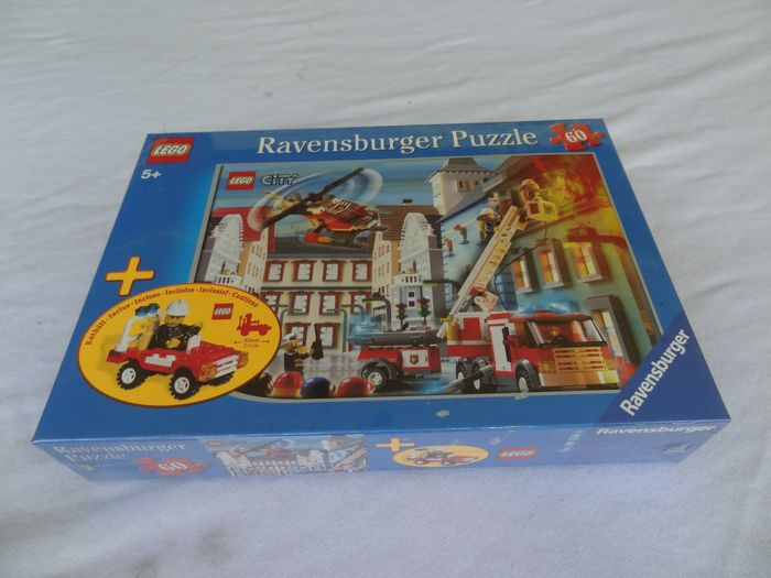 LEGO - Assorti - City Puzzle Ravensburger - - With fire car special